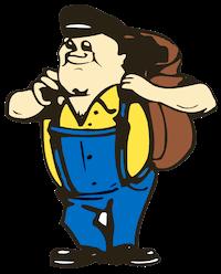 Coalman mascot icon